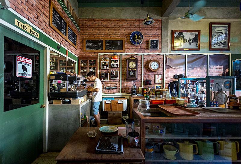 Old Town Cafe, Bangkok, Thailand