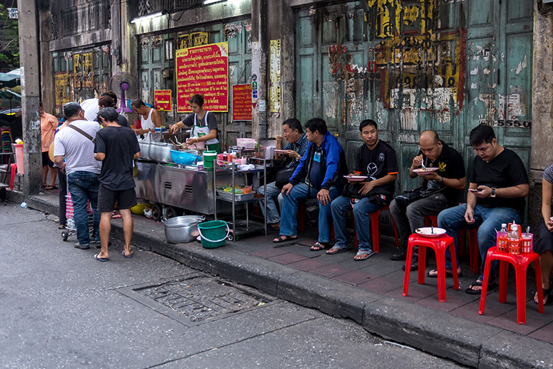 Khao Raat Gaeng Jek Pui, Chinatown, Bangkok