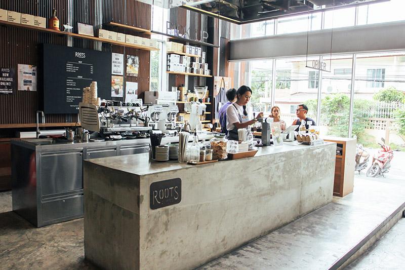 Roots Coffee at theCommons, Bangkok