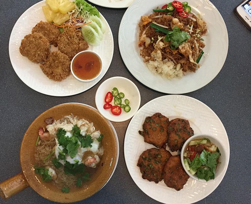 Thai foods