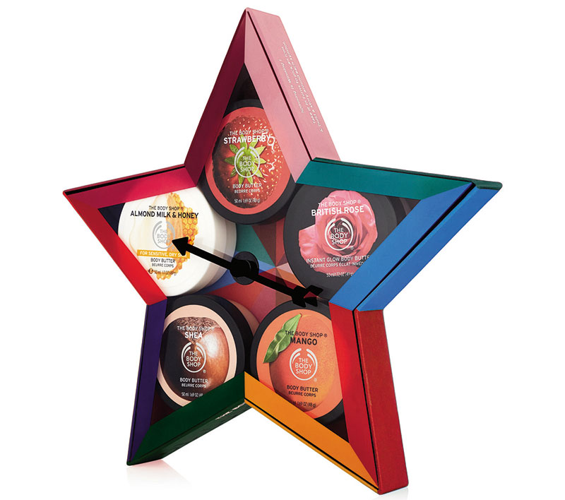 The Body Shop Dial-A-Flavor, Body Butter Collection