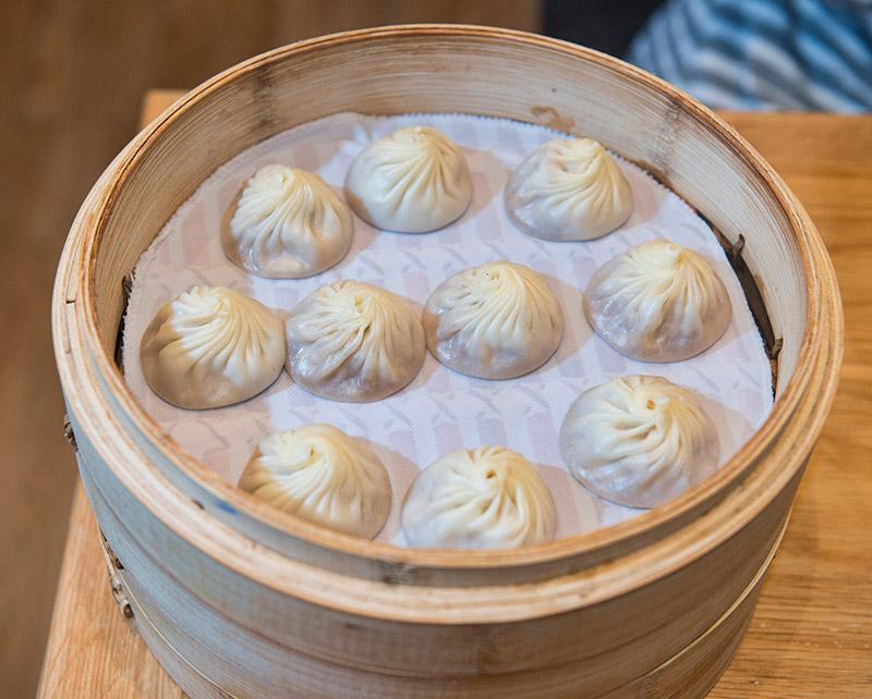Din Tai Fung's famous xialongbao dumplings