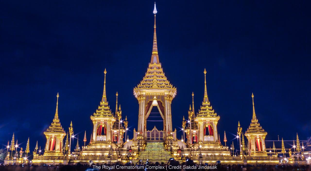 Royal Crematorium, Bangkok, Thailand