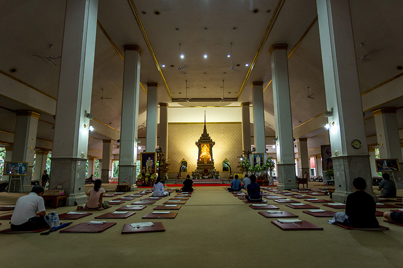 Wat Pathum's meditation center