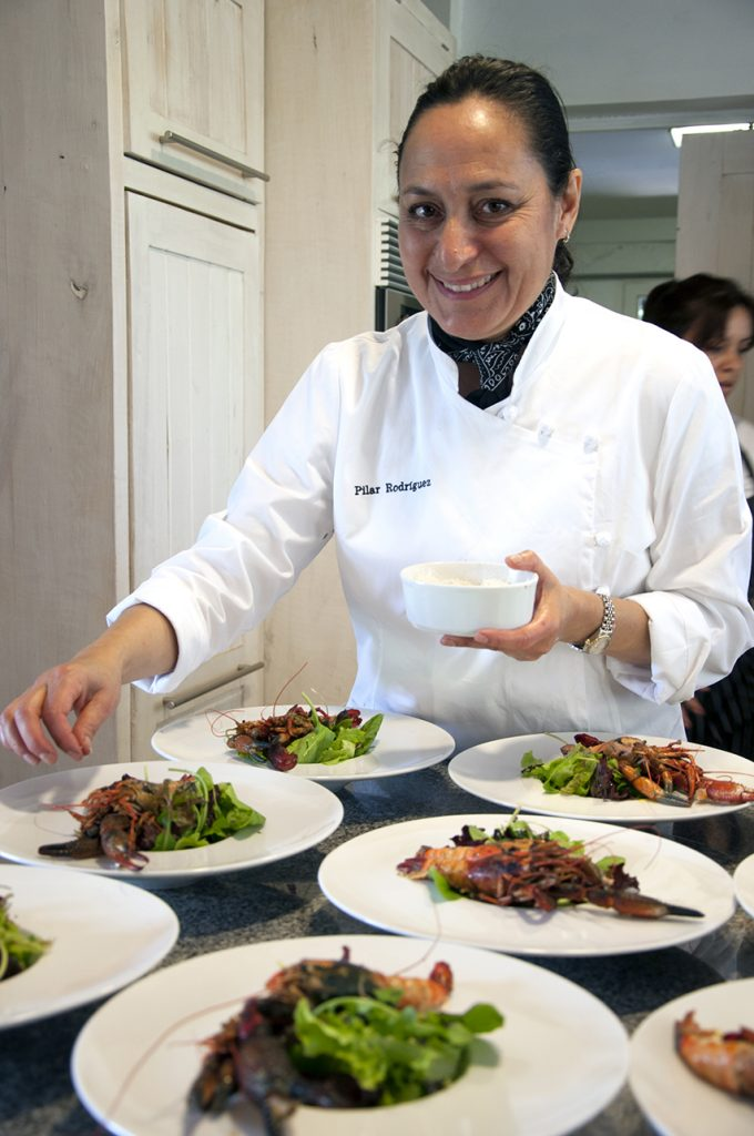Chilean Chef Pilar Rodriguez