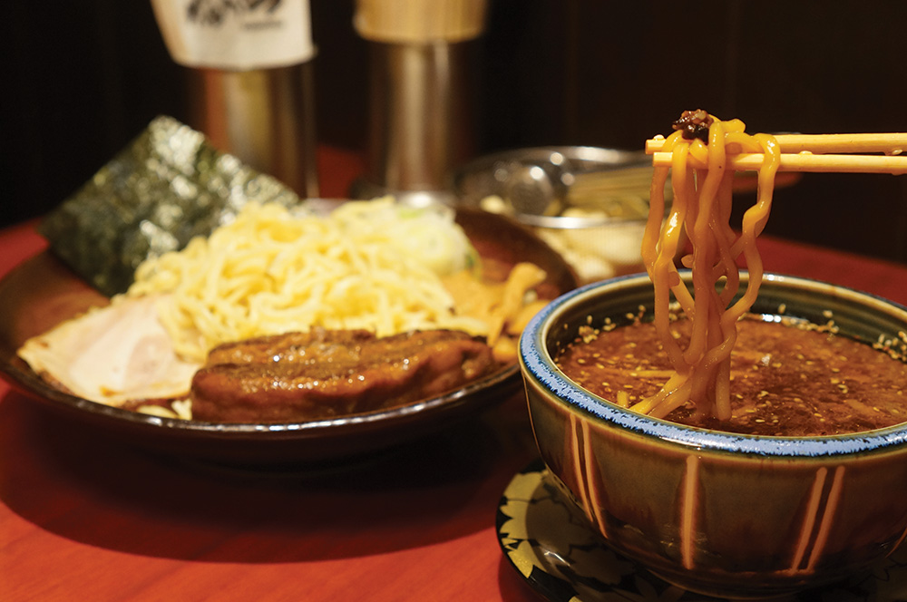 Kanuni tsukemen cold noodles