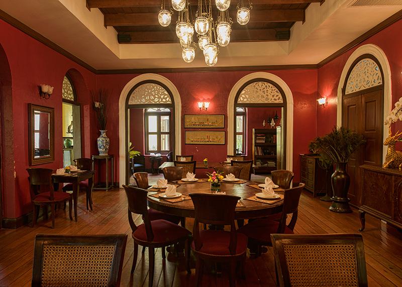 Praya Palazzo's in-house restauran