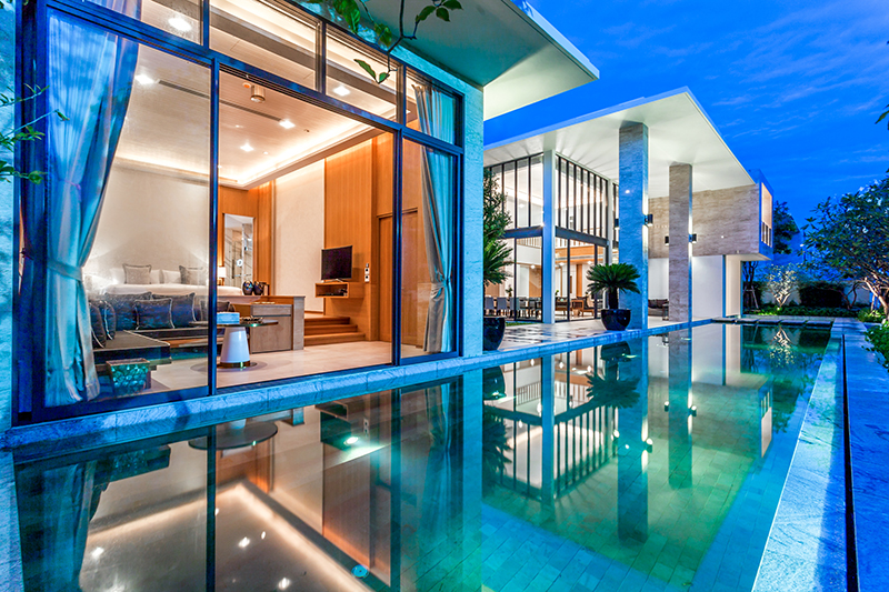 The Five Bedroom Luxury Pool Villa