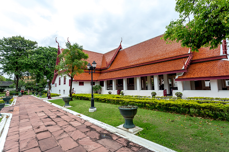 The Throne Hall located within the fort's proximity