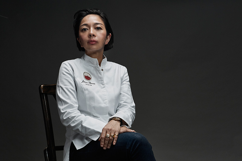 Chef and co-founder Jutamas Theantae