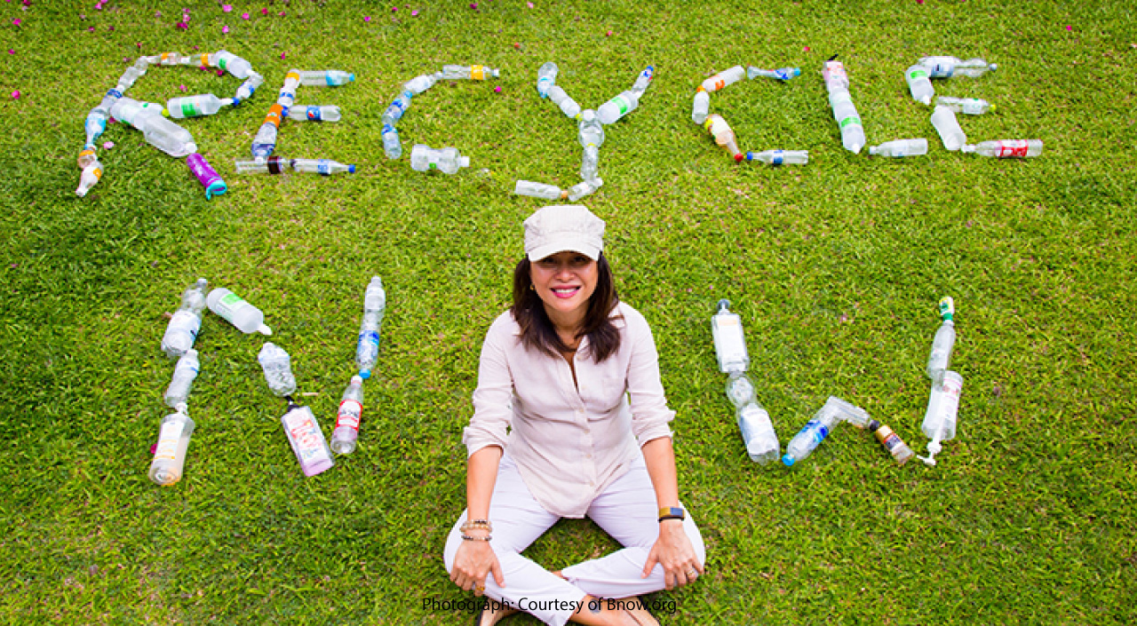 BNOW.org celebrates Earth Day with RecyleNow.Asia