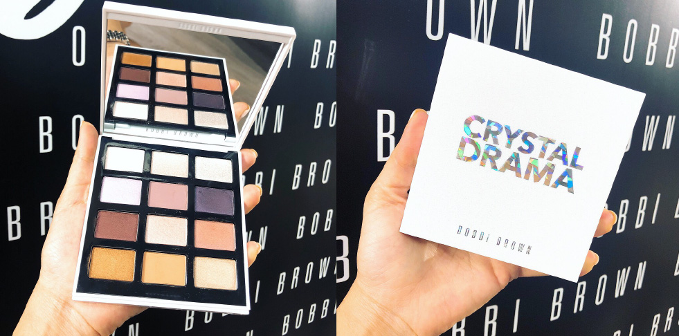 Bobbi Brown's Crystal Drama