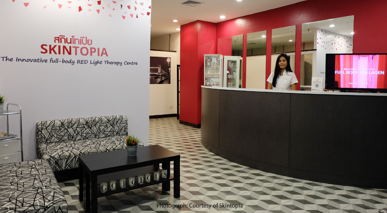 Skintopia Introduces Red Light Theraphy