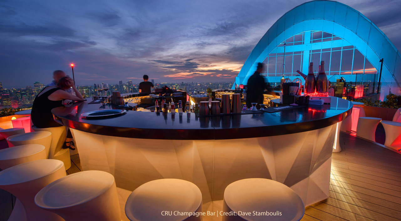 CRU Champagne Bar - Centara Grand at CentralWorld