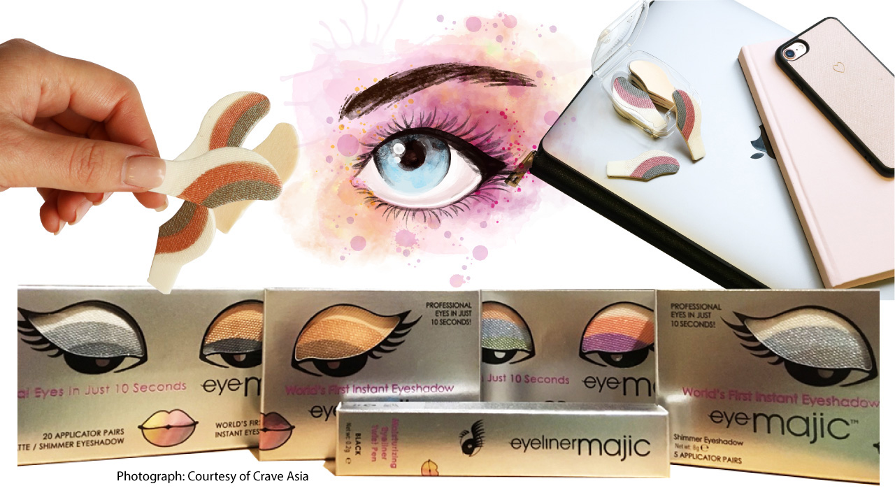 Majic Beauty's Instant Eyeshadow