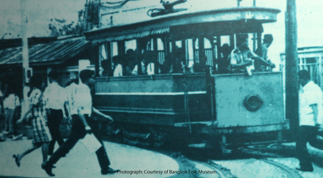 Bangkok's First Tram Travel