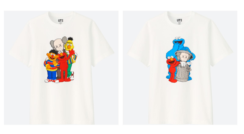 UNIQLO launches KAWS x SESAME STREET UT Collection