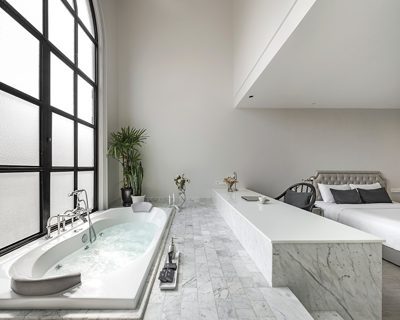 An Executive Jacuzzi room
