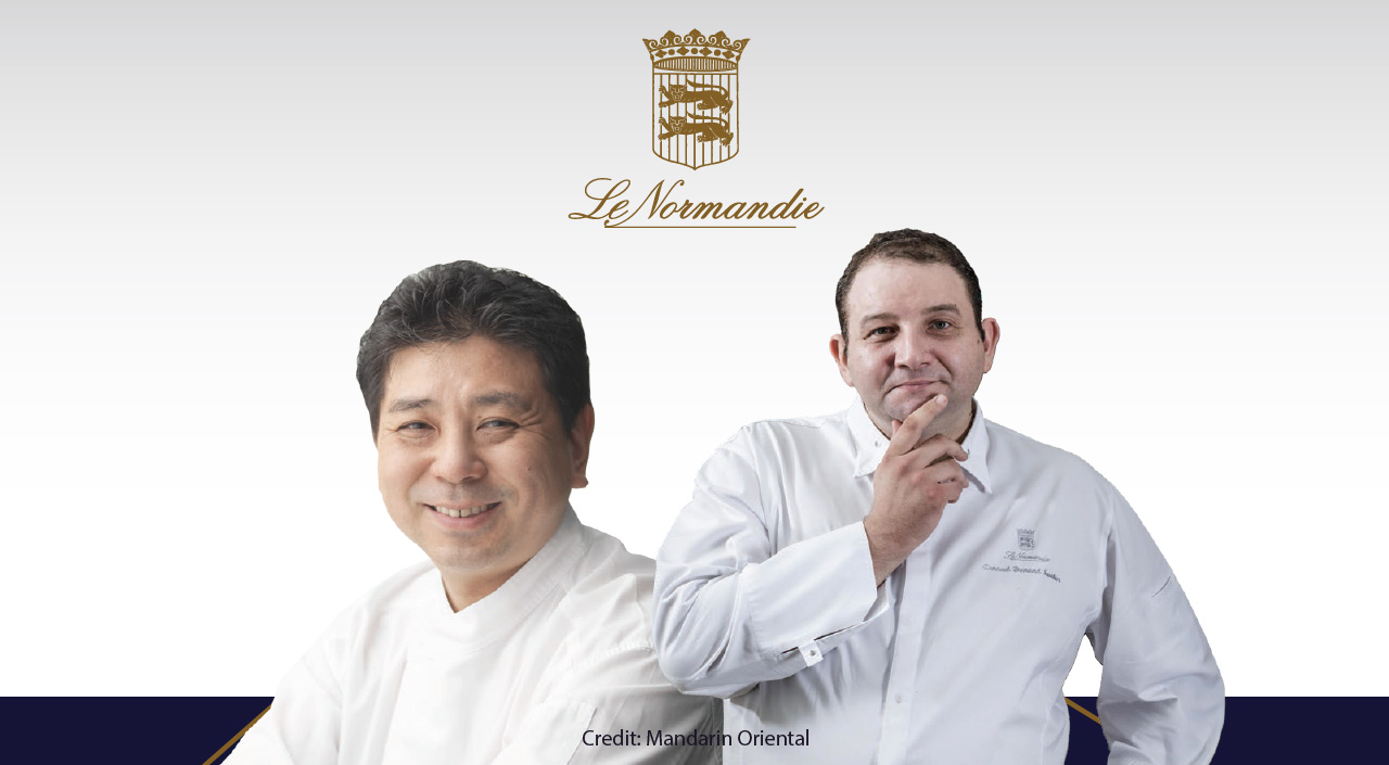 Dine in Style at Le Normandie's 'Four Hands Lunch and Dinner'