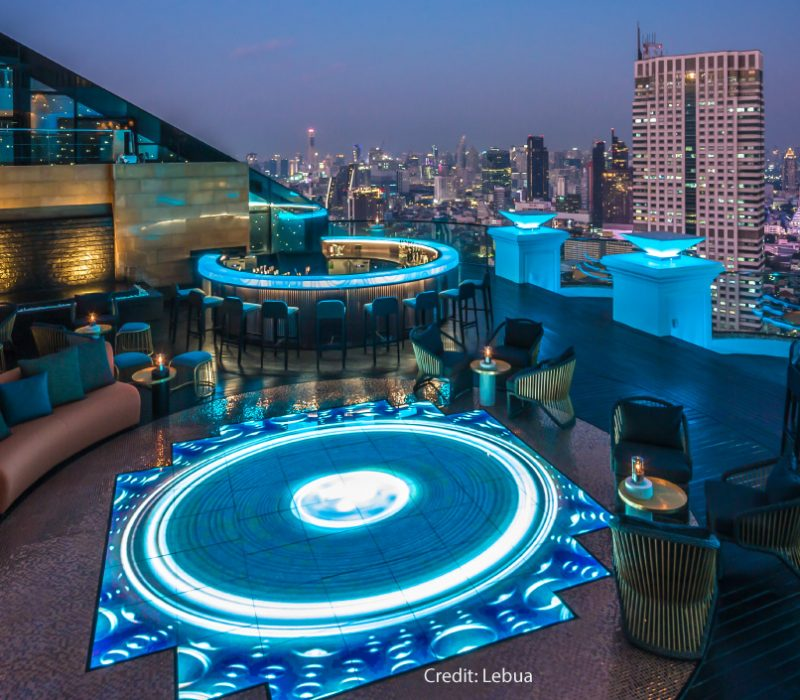 Lebua No. 3 - World's Tallest Gin, Caviar, and Vodka Bar