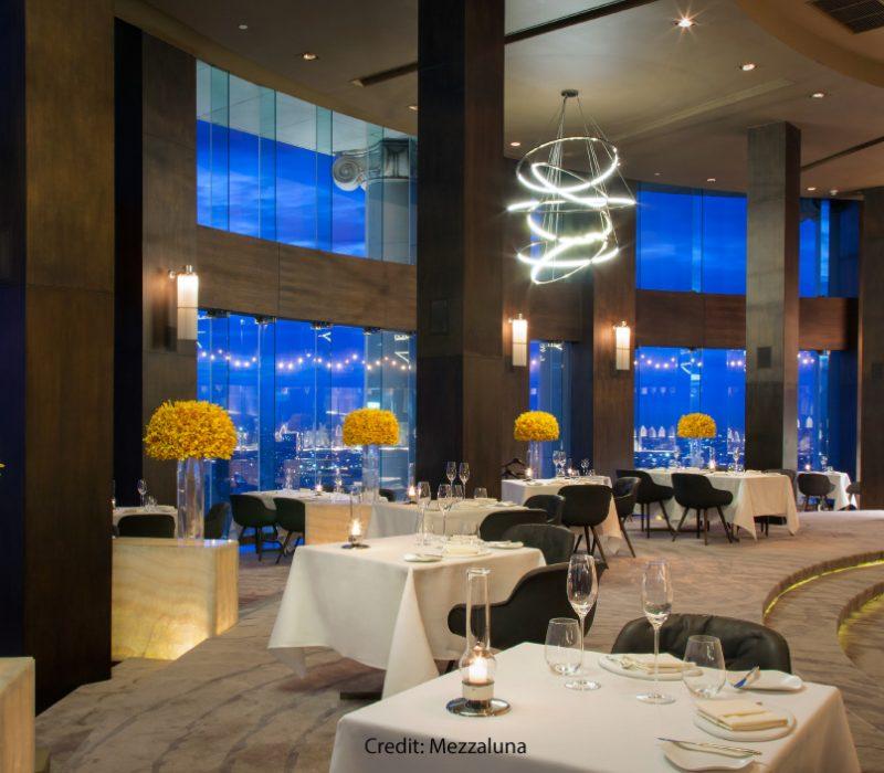 Mezzaluna Restaurant Bangkok