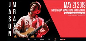 Jason Mraz bringing Good Vibes to Bangkok