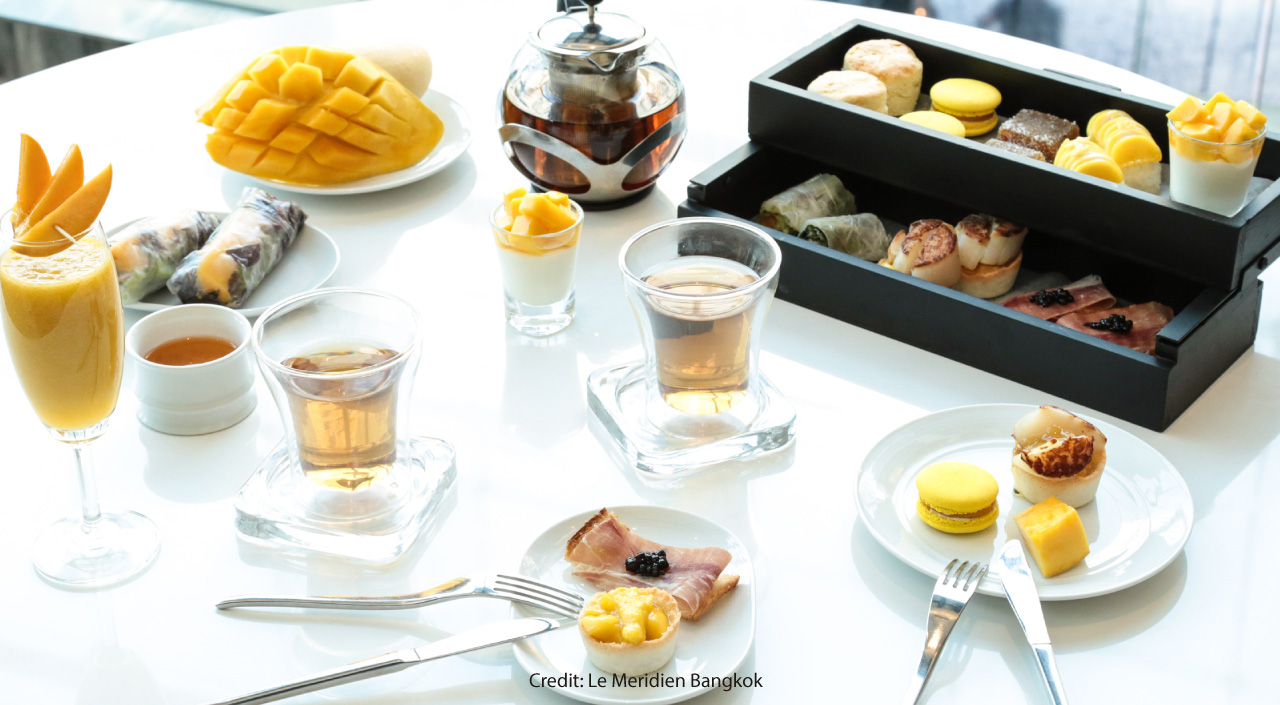 Luscious Mango-Filled Afternoons at Le Méridien